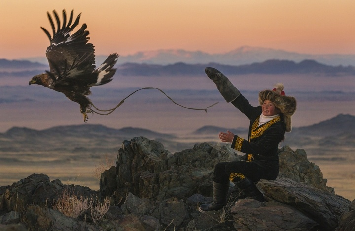 The First Eagle Huntress