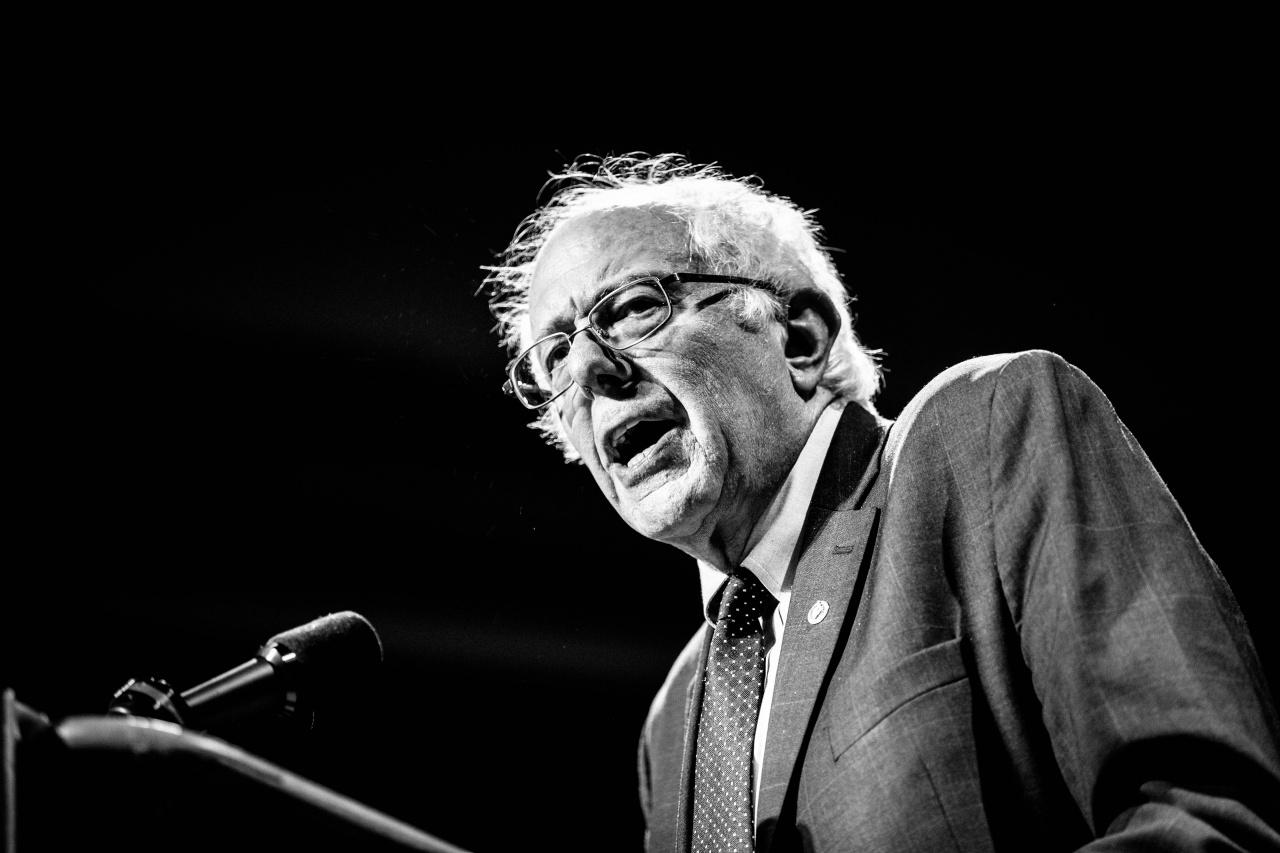Bernie Sanders in Syracuse