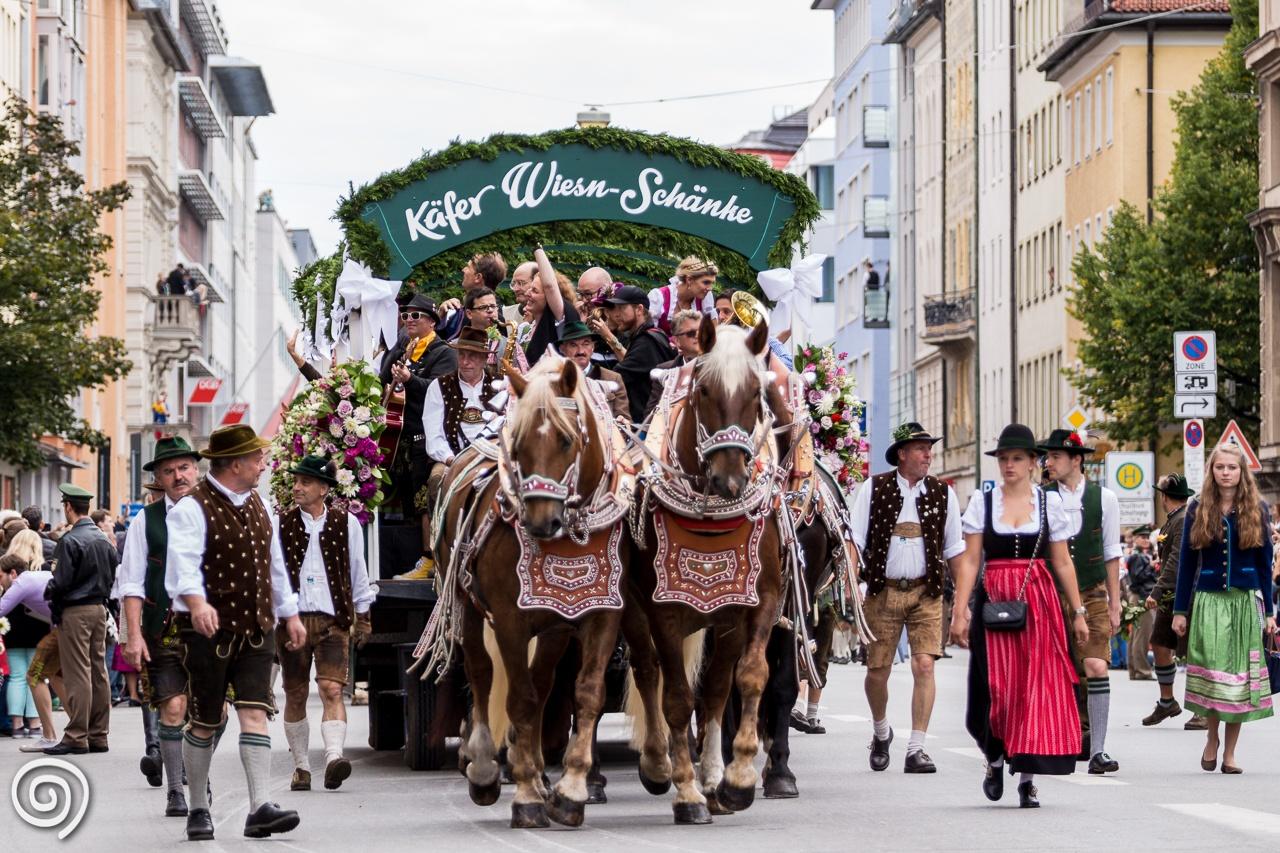Oktoberfest procession