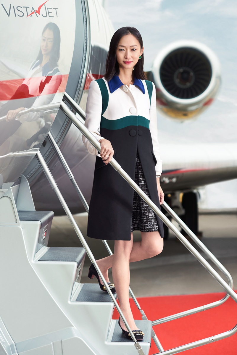 Leona Qi CEO of Vista Jet Asia