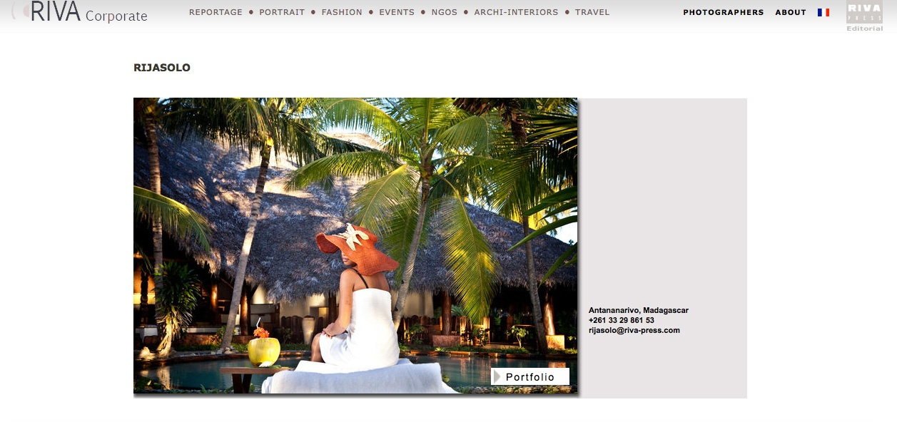 Riva Press Corporate website