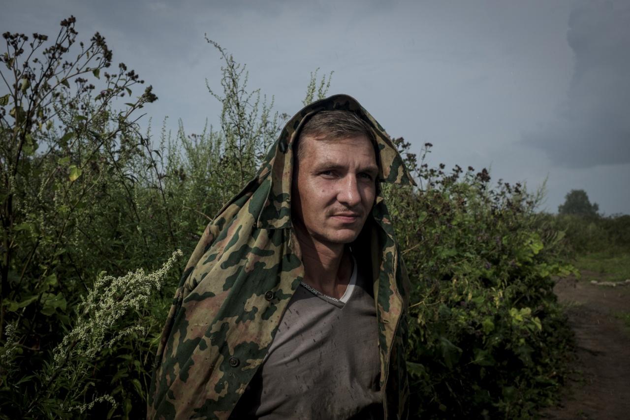 Ex-drug addict converted to baptism portrait