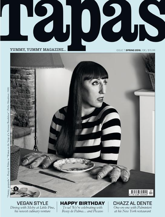 Rossy De Palma Tapas magazine cover