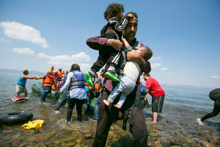 Refugee Crisis, Lesbos, Greece
