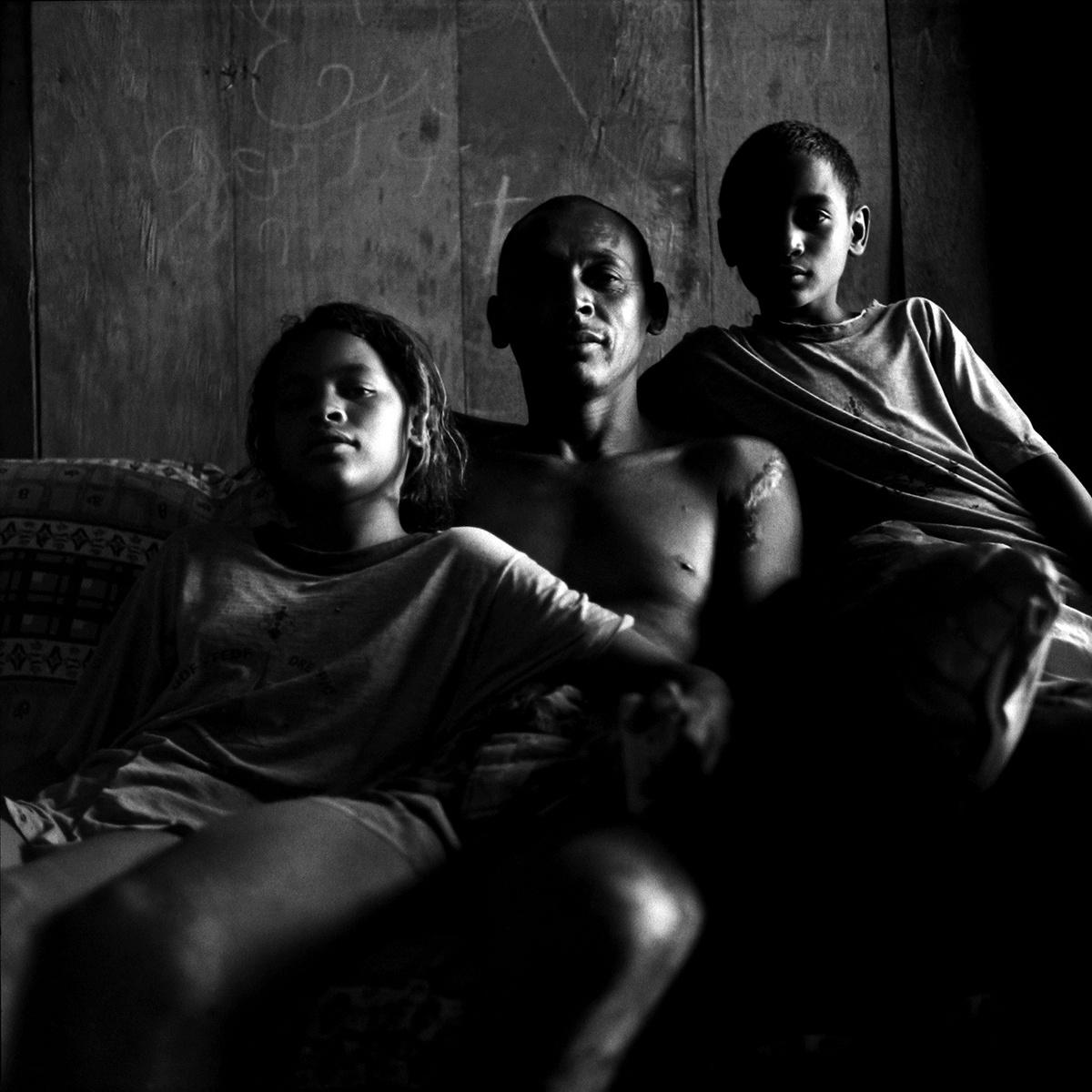 Portrait of family - Brasília, Brazil