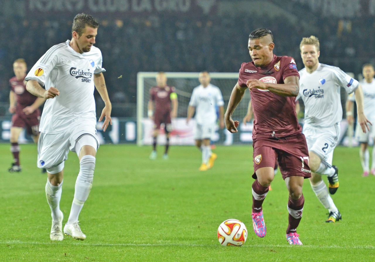 Torino FC on Uefa Europa League in Turin,Italy