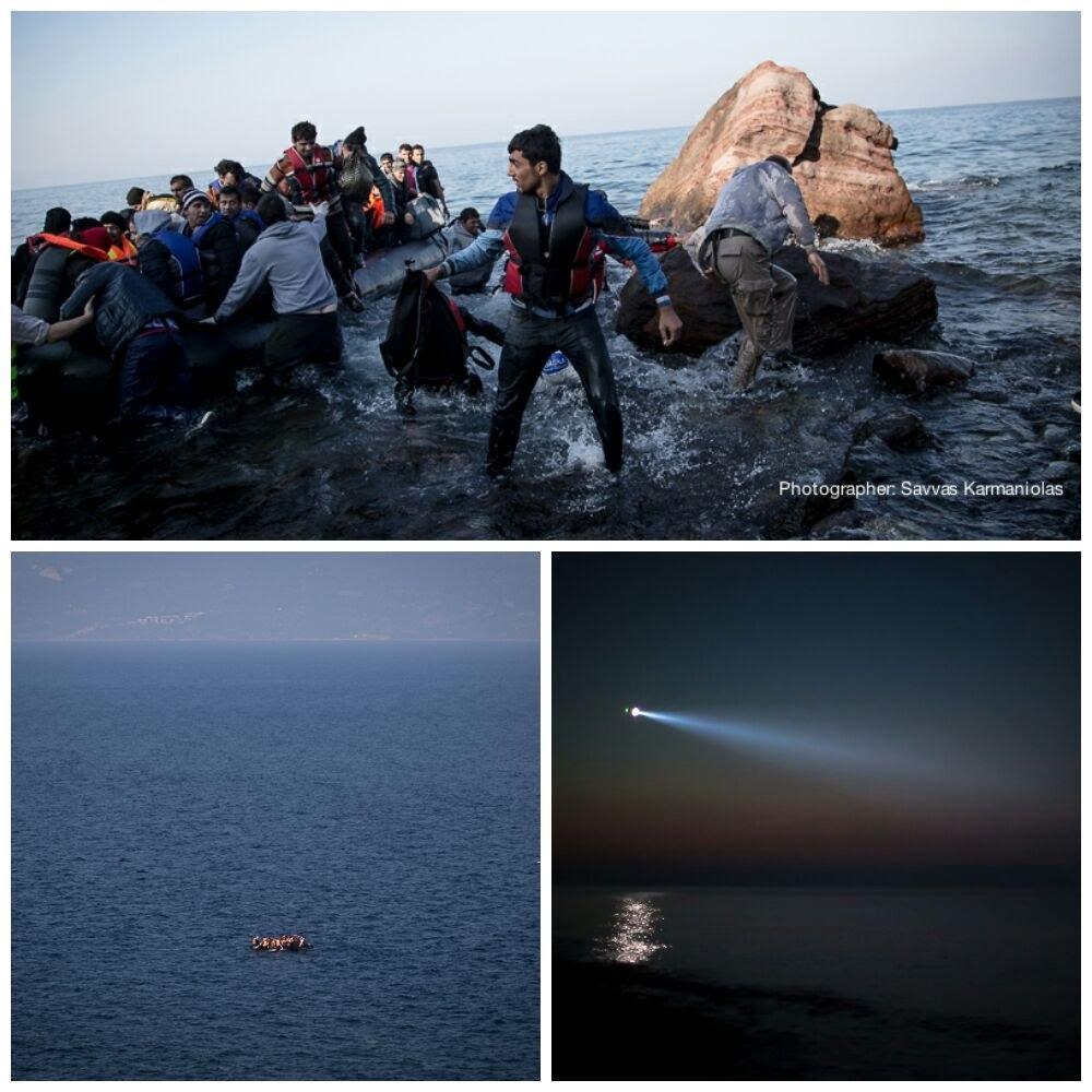 RefugeeCrisis Lesbos