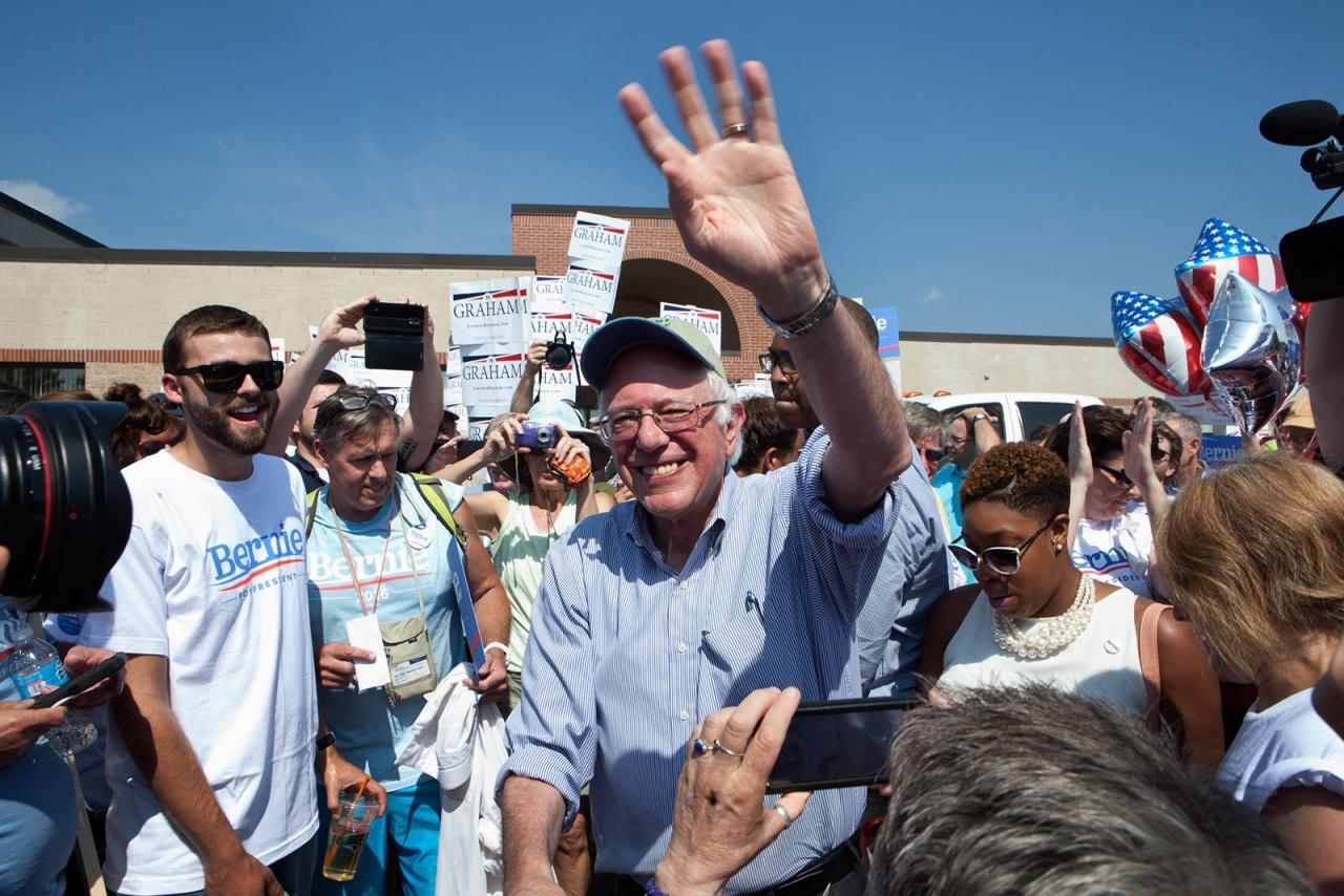 Bernie Sanders for Getty Images