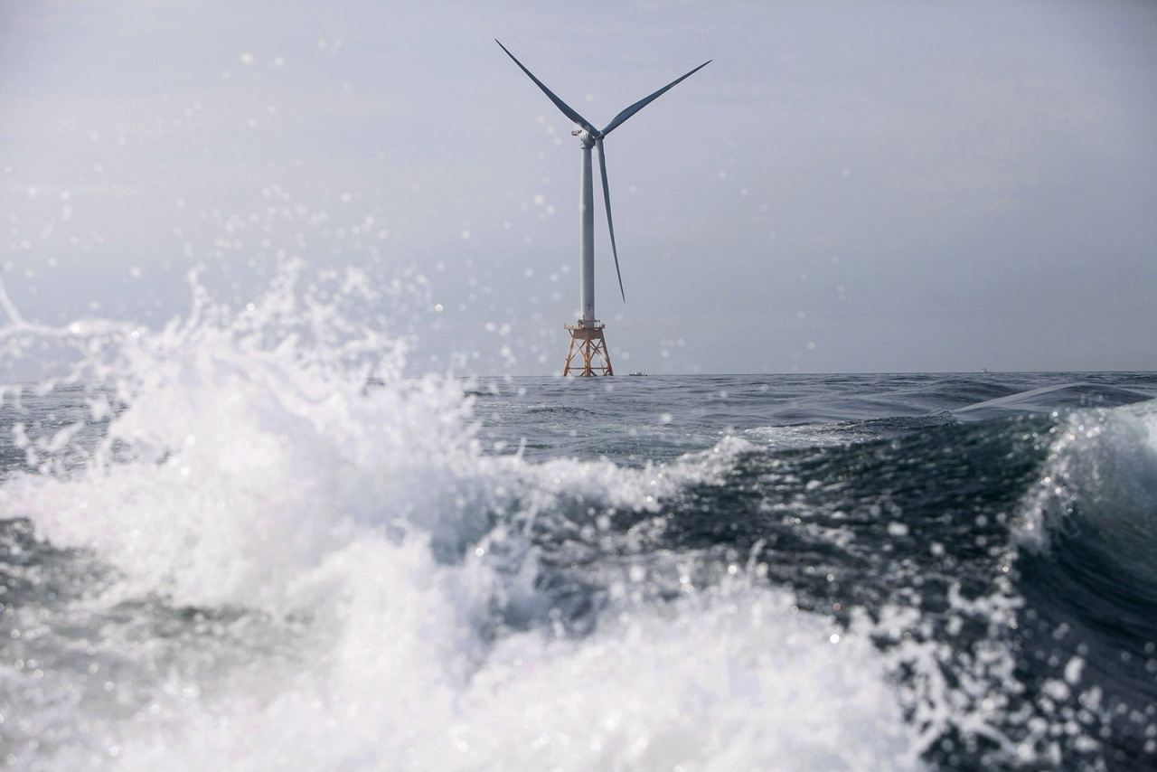 Block Island Wind Farm for the NYTimes