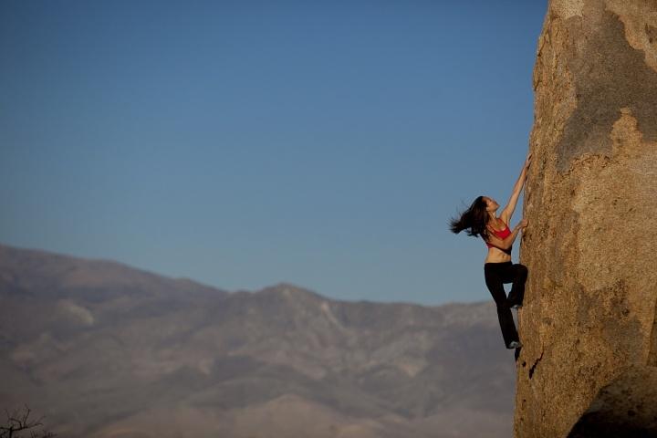 Climbing in the Eastern Sierras