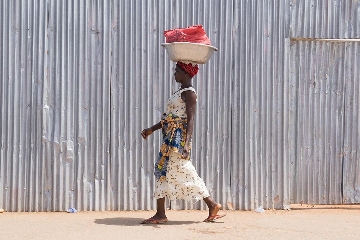 Asante Market Woman; Elmina, Ghana