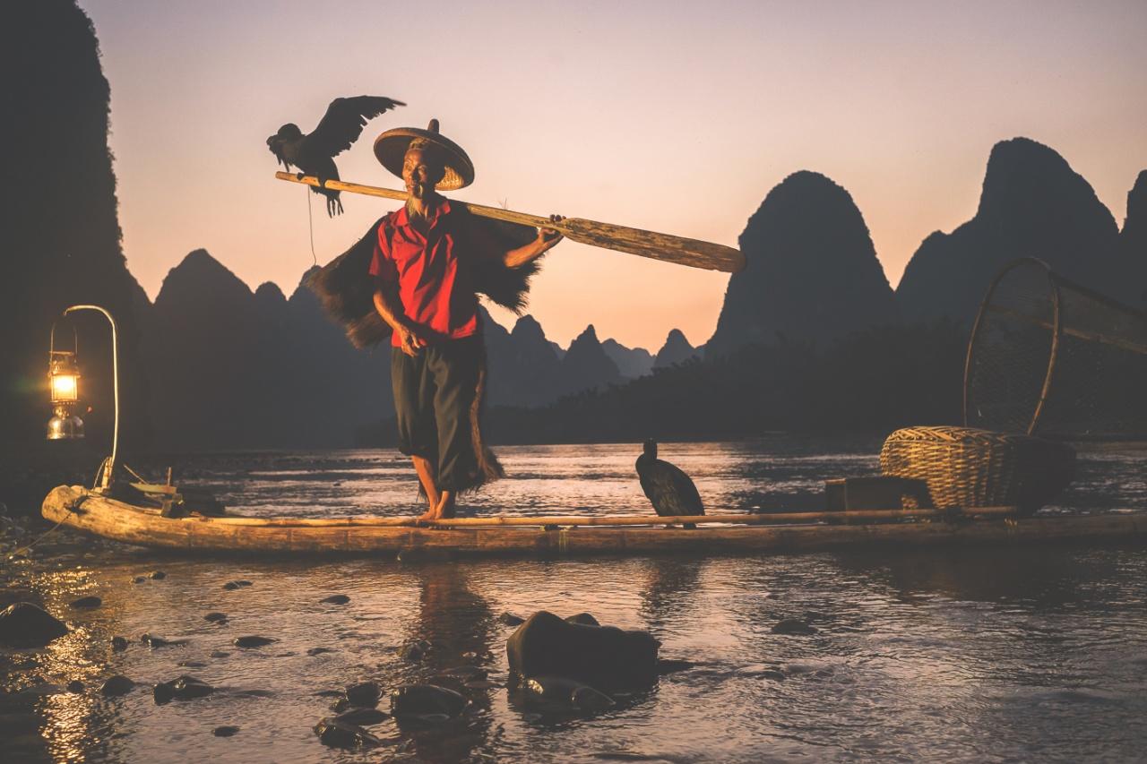 The Cormoran Fisherman