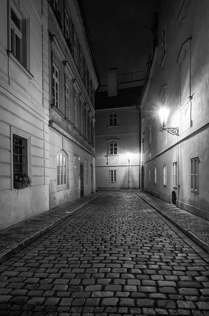 Prague Lesser Town Street