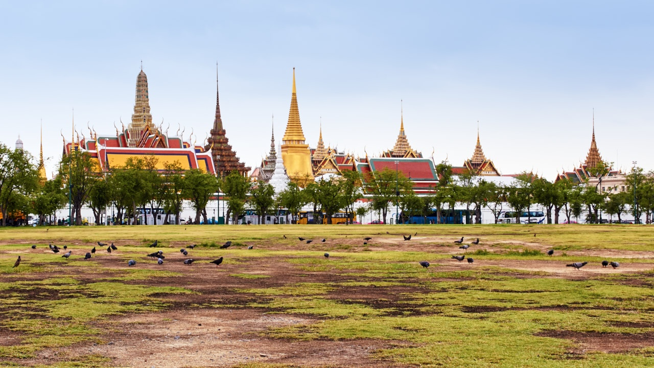 The Grand Palace, Bangkok Thailand.