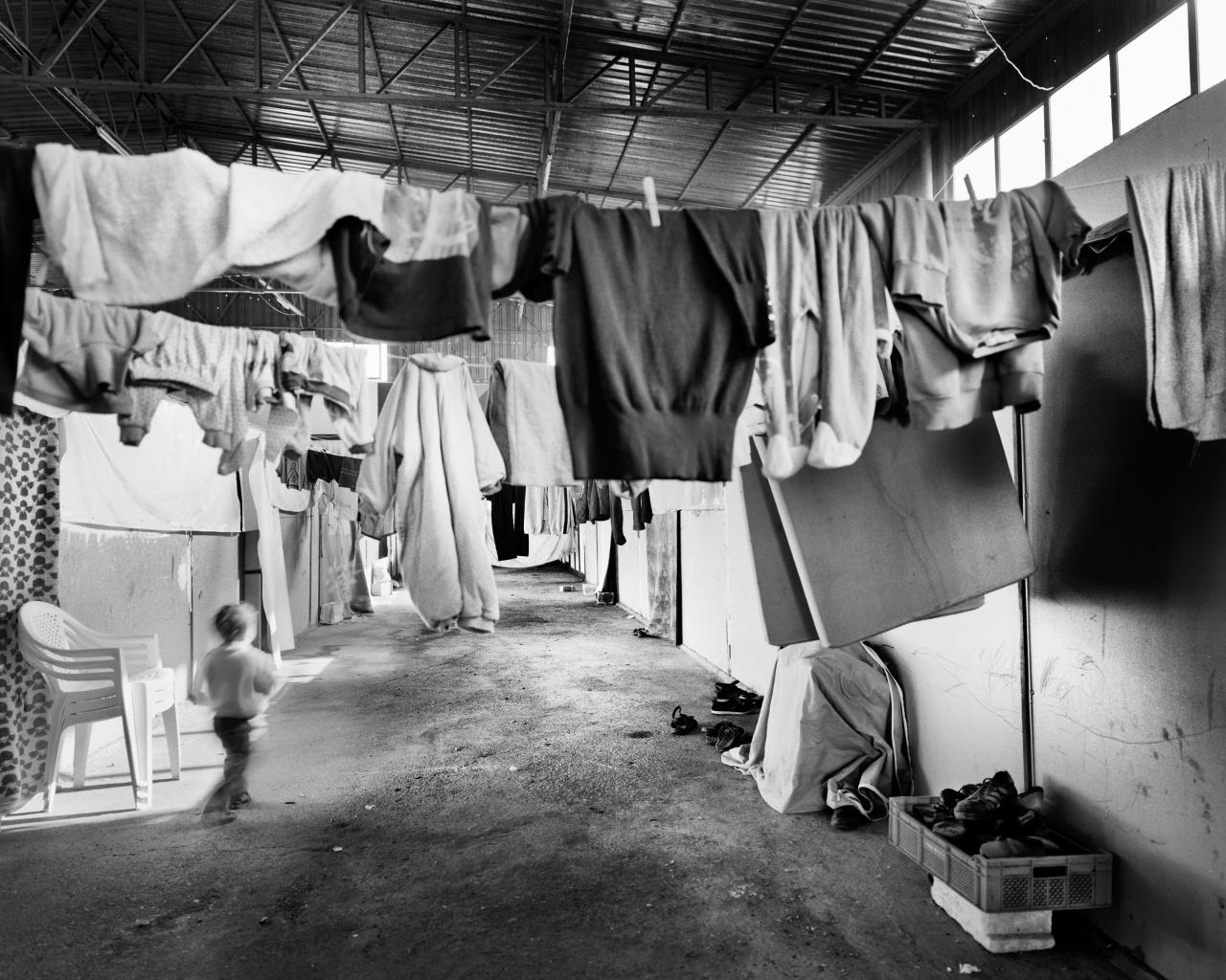 Syrian-Palestinian shelter in Kilis