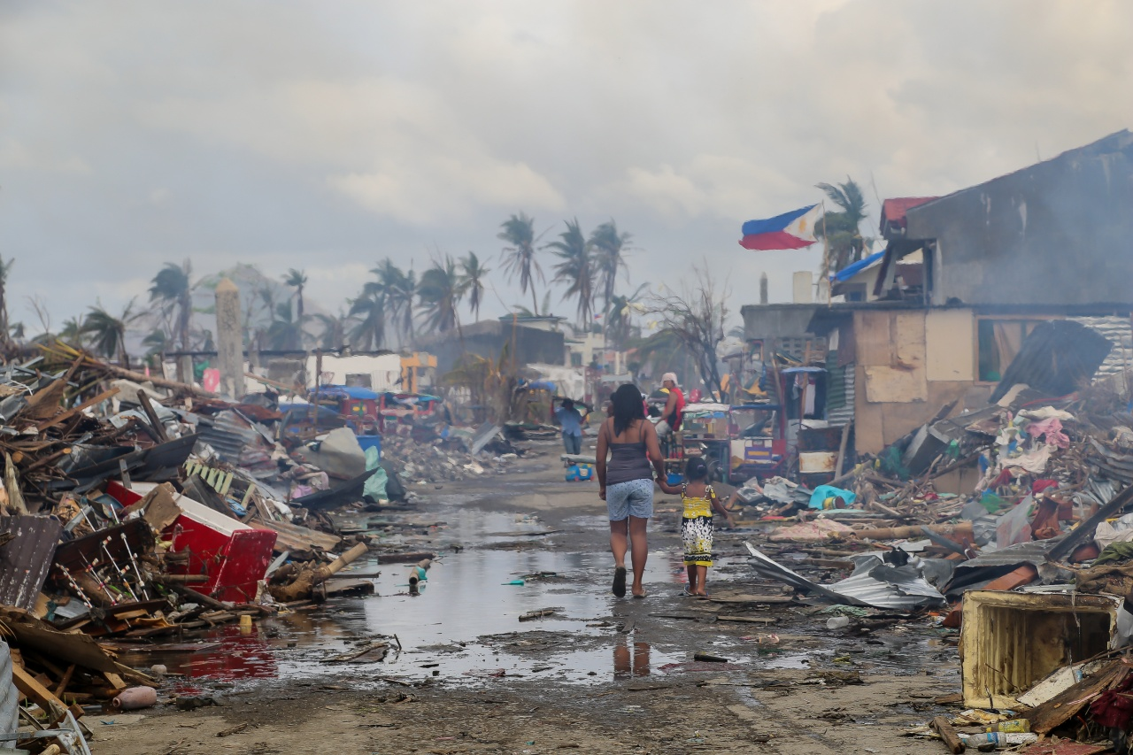 Tacloban, Aftermath of Typhoon Haiyan