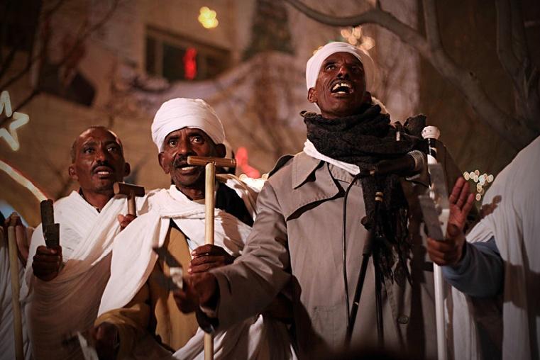 Coptic Christmas in Palestinian Territory