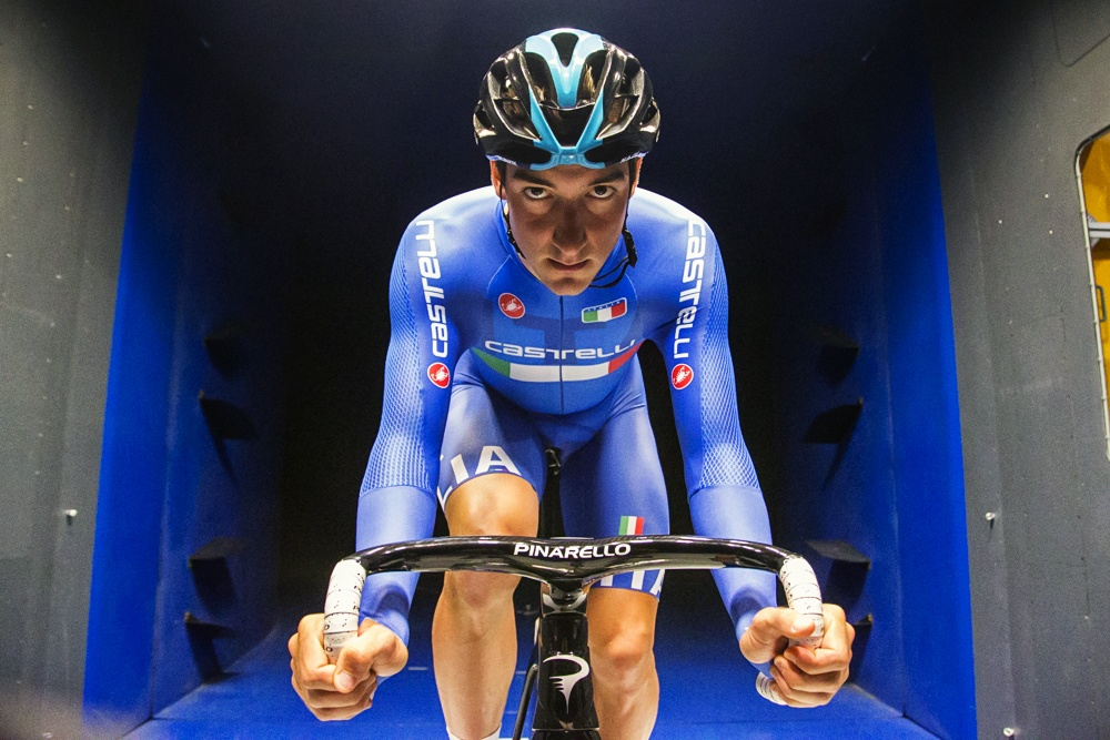Elia Viviani tests new cycling suite for Rio2016
