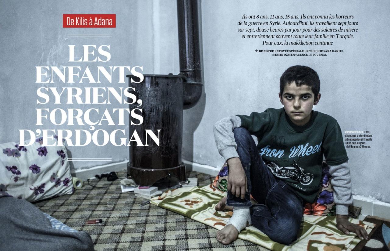 Publication - Emin Özmen for L'Obs