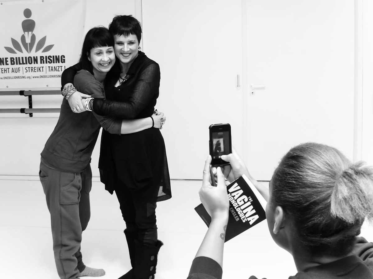 A day with Eve Ensler.