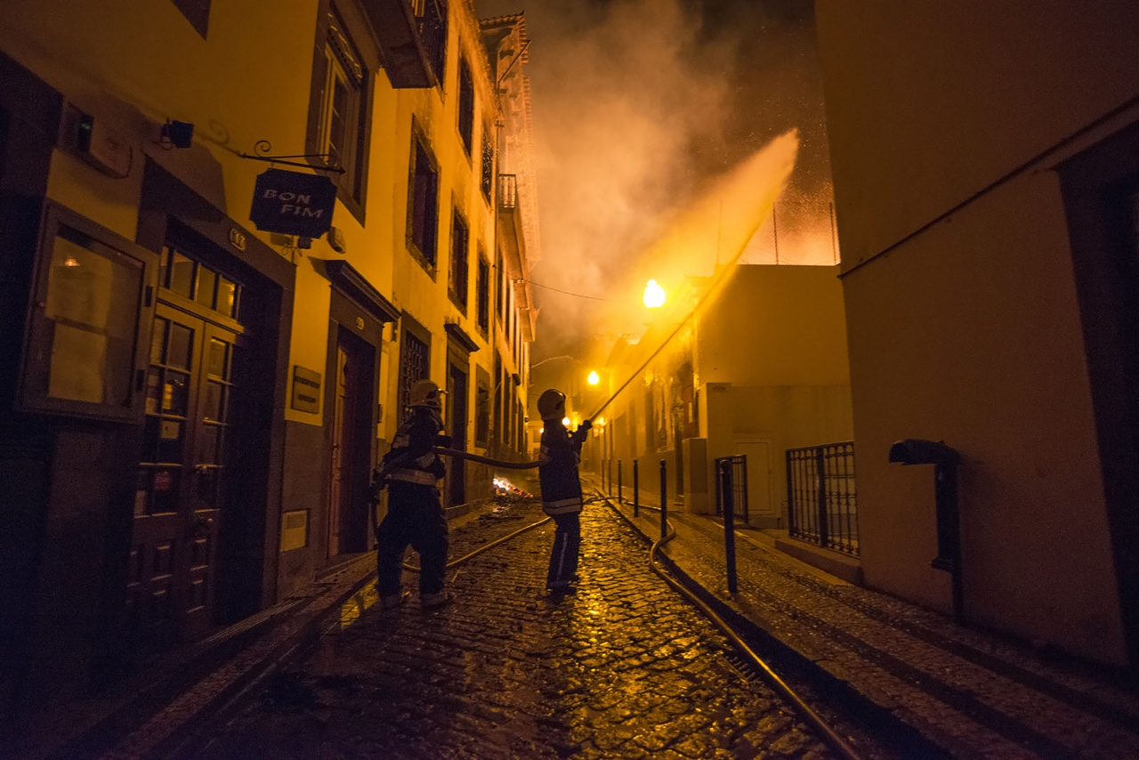 Fires in Madeira Island
