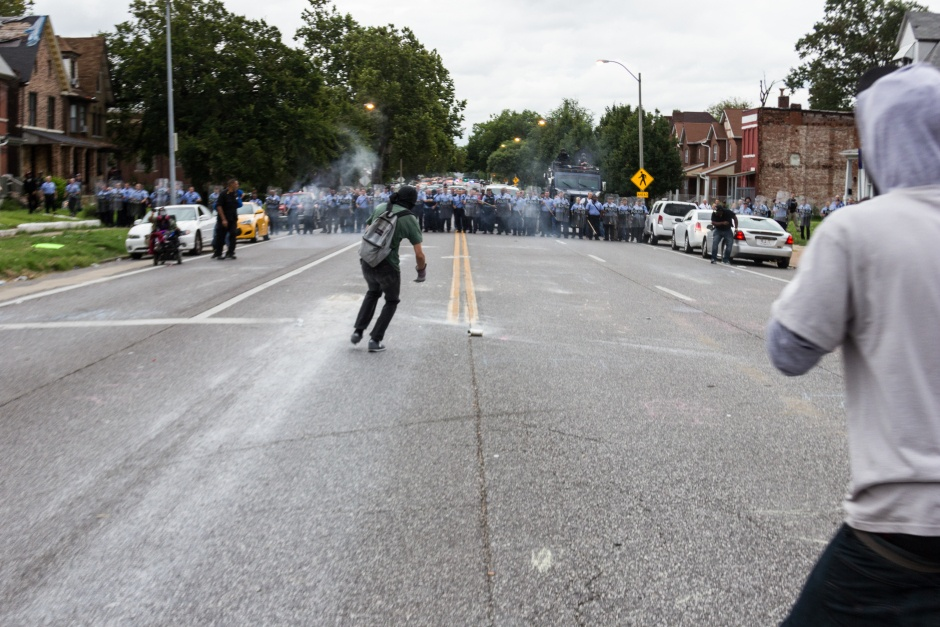 Mansur Ball-Bey Protest