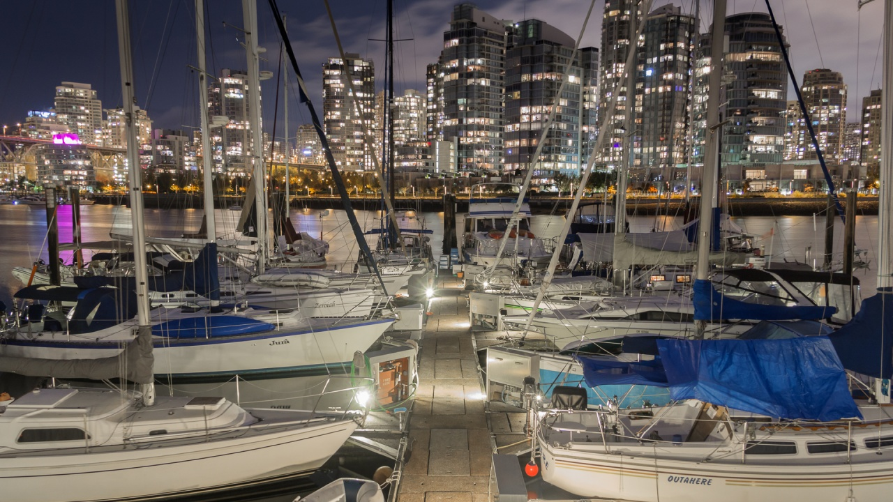 Boat Dock in Vancouver Canada