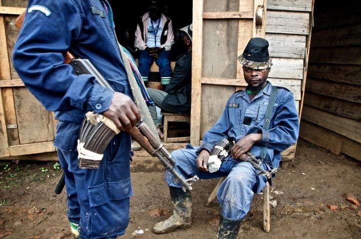 APCLS rebels, Congo.
