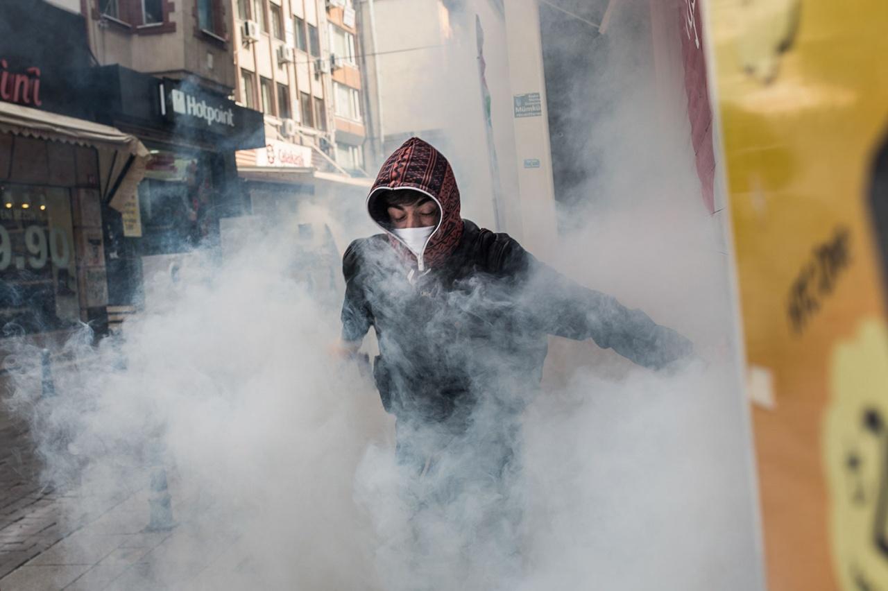 Protests in Istanbul for Kobani