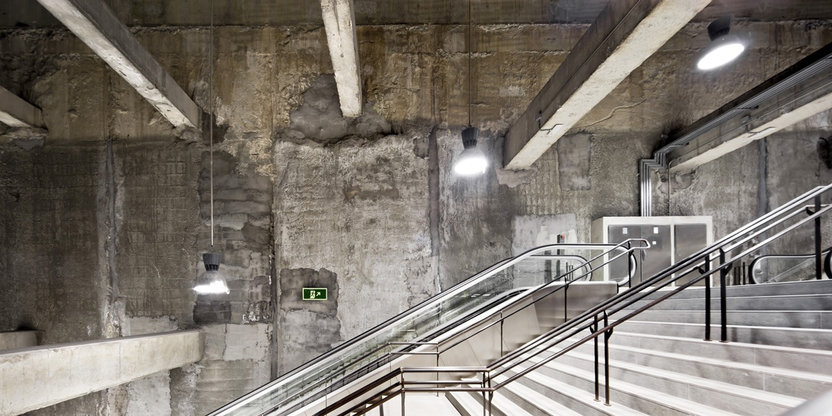 L9 station in Barcelona- Jordi Garcés, arq.