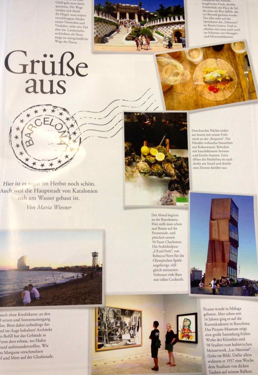 Travel Tips for Frankfurter Allgemeine Magazin