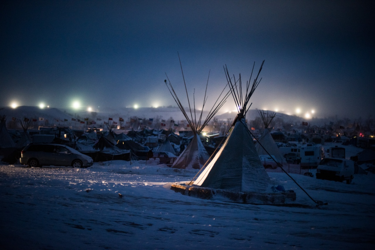 Blizzard at Standing Rock
