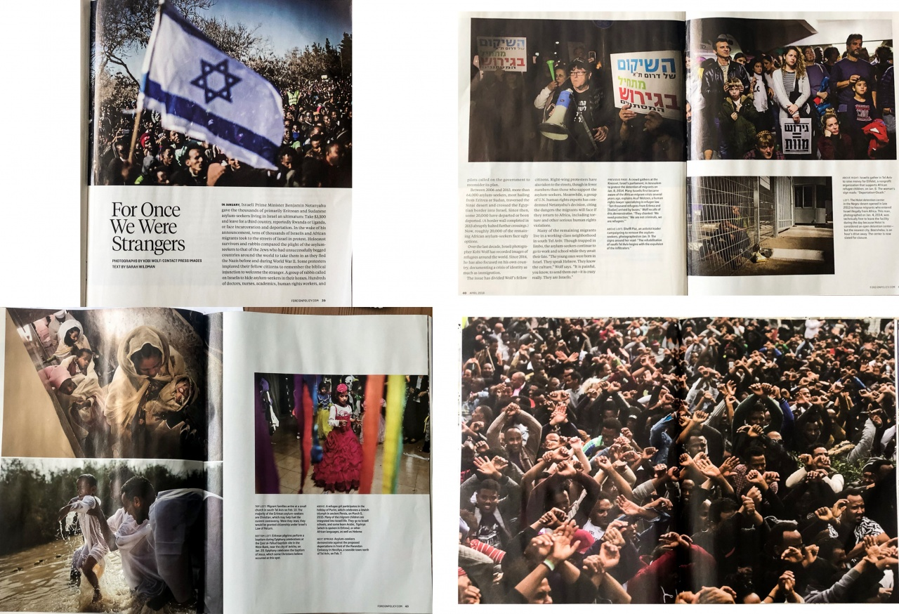 Foreign Policy magazine print edition. April 2018