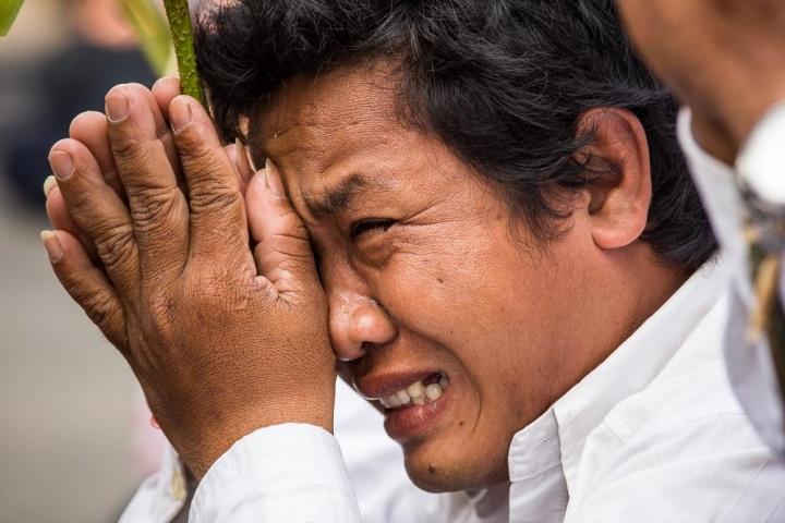 Mourning King Sihanouk