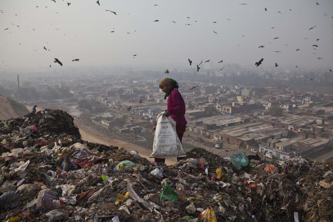 Ghaziabad rubbish dump