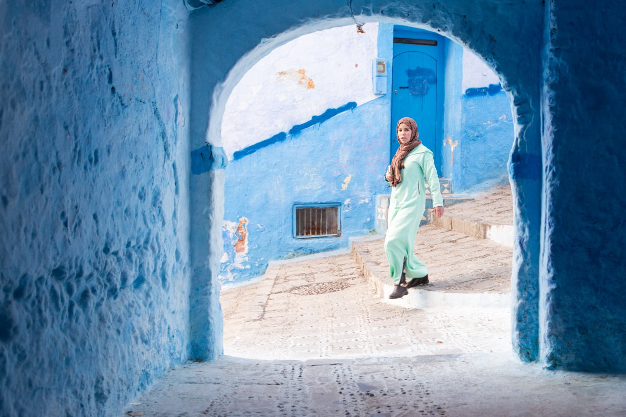 Story about the city of Chefchaouen in Marroco