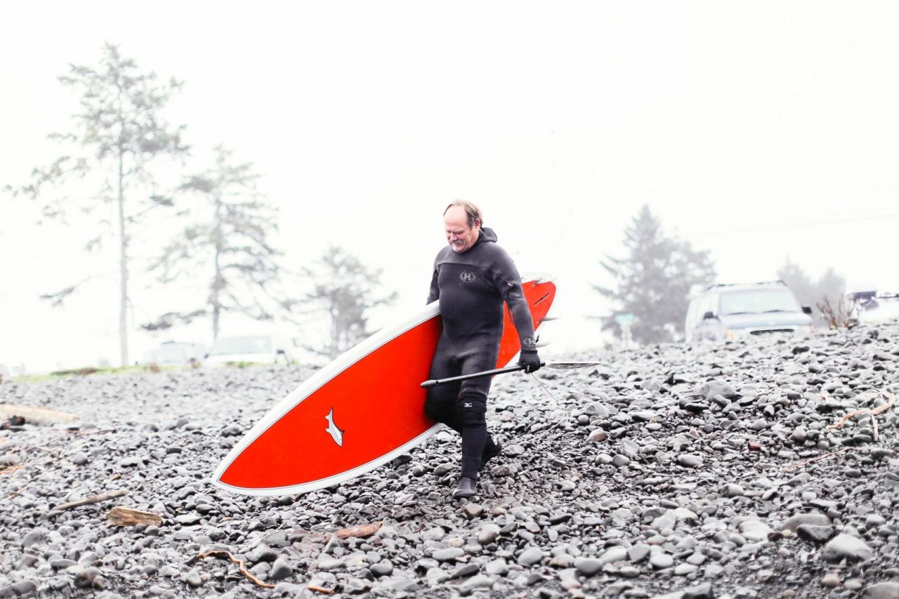 Retired Surfer, Seaside, Oregon
