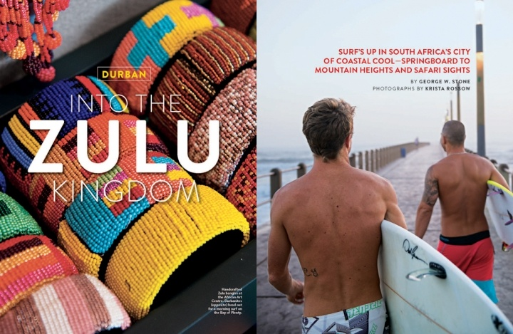 National Geographic Traveler - Feature on Durban