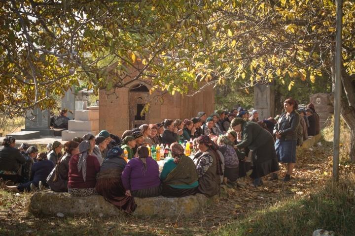 Yezidi funeral