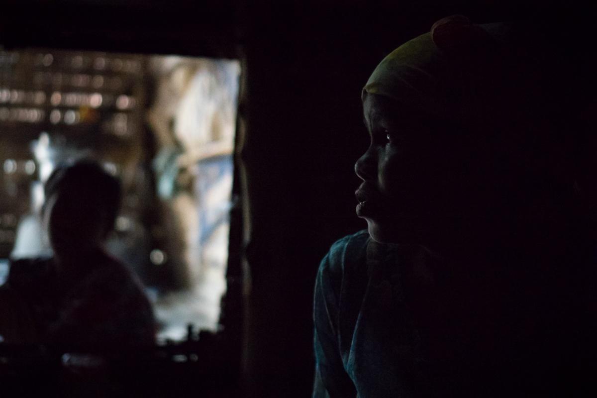 Southern Rakhine, Myanmar  IDP Camps