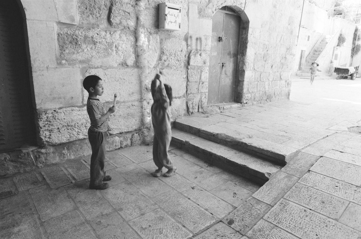 Children playing in Jerusalem