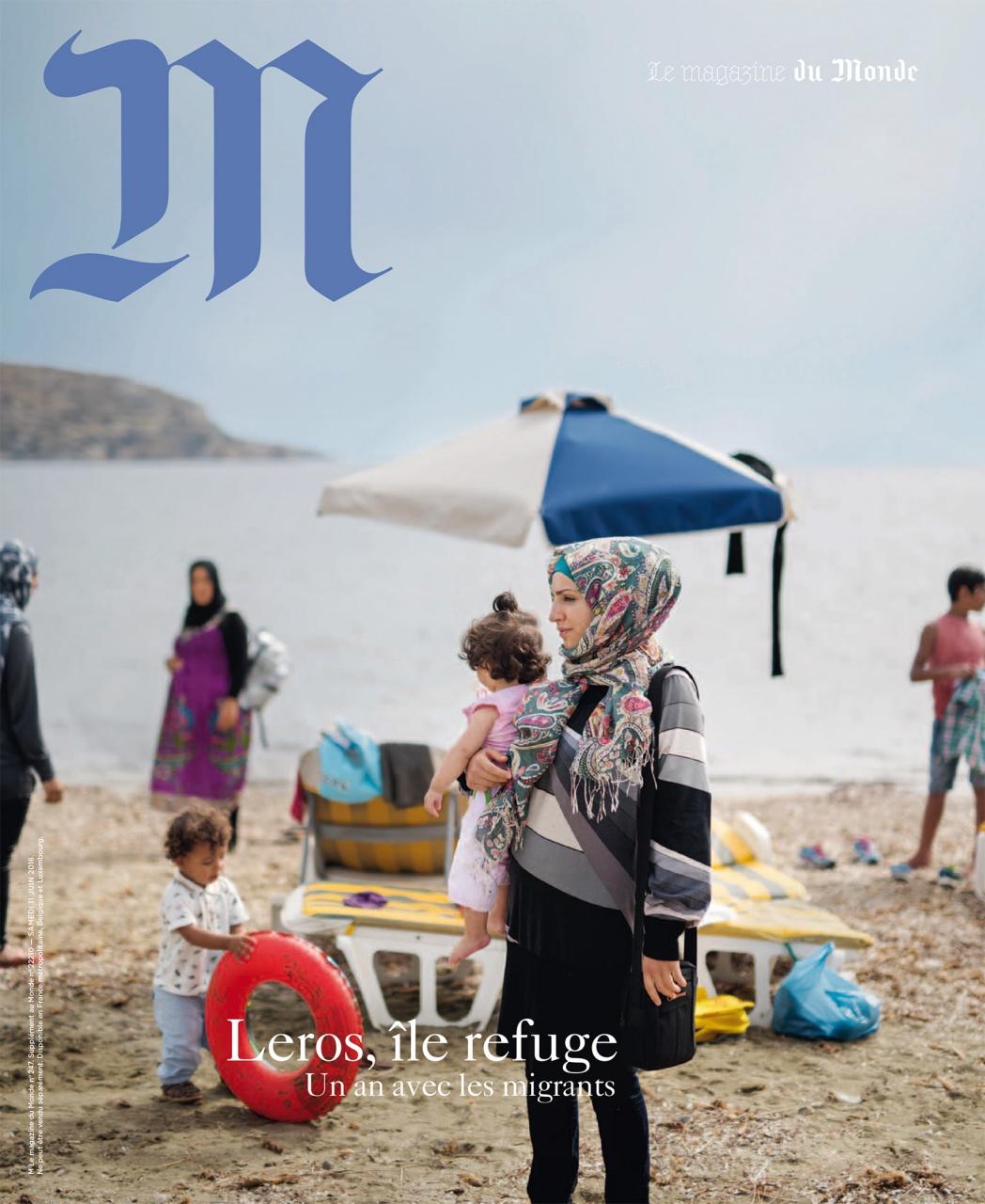 Front Cover M Le Magazine du Monde