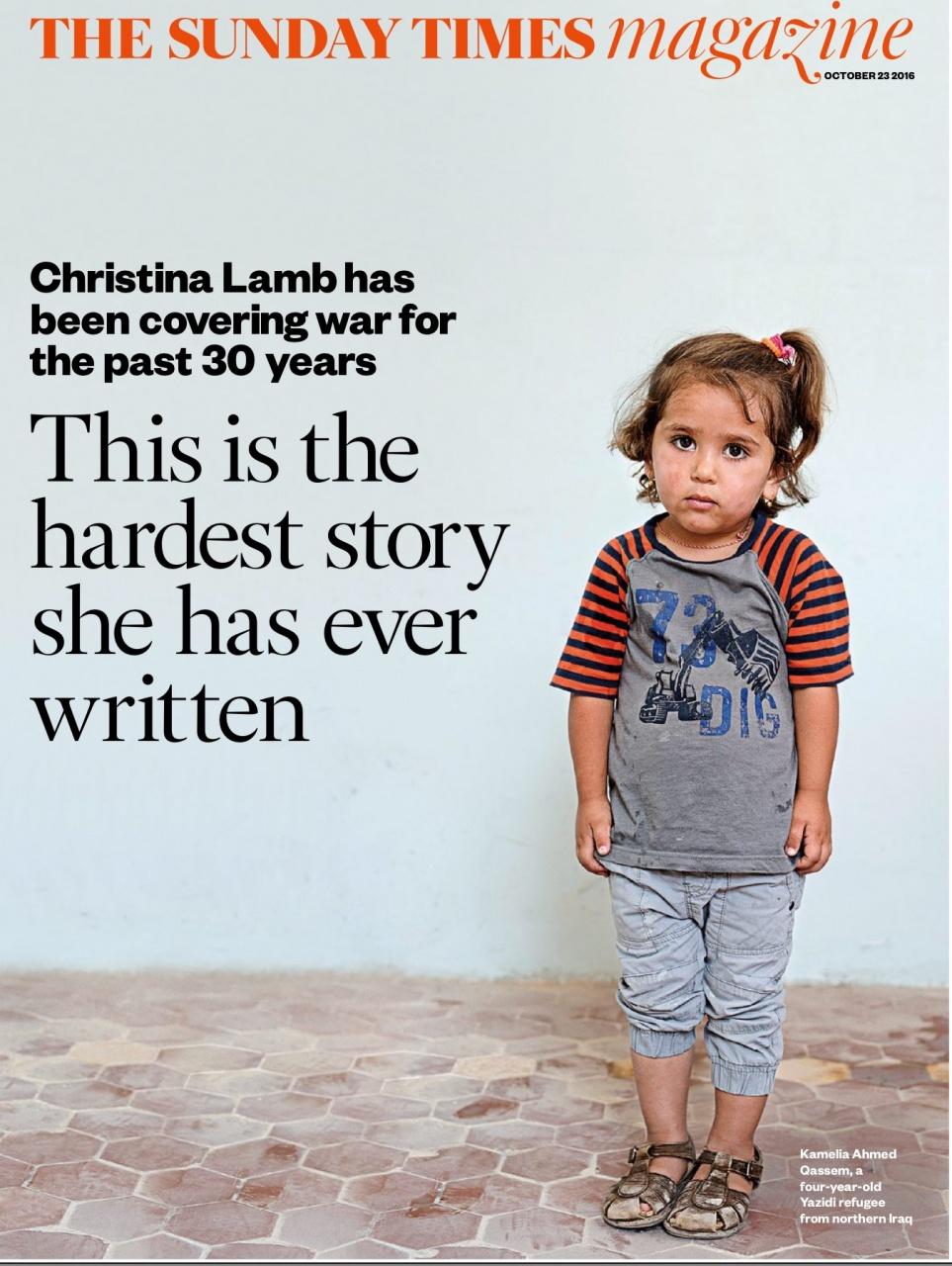 Sunday Times Magazine 23.10.16