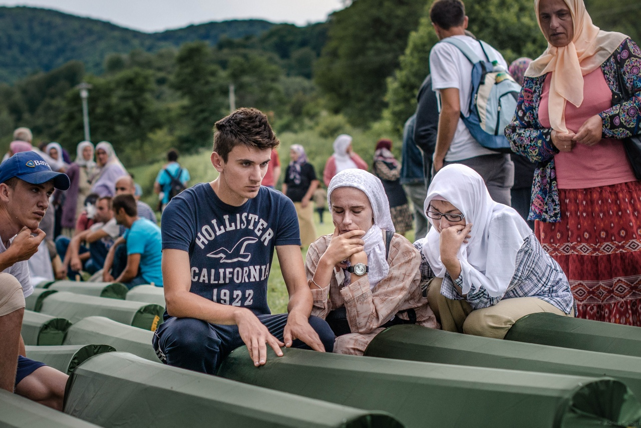 Srebrenica massacre commemoration