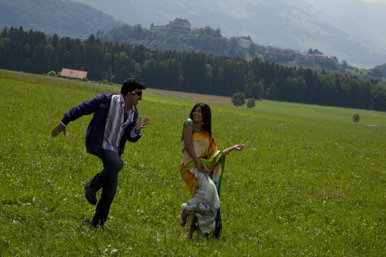 Bollywood Movie shooting in Gruyère