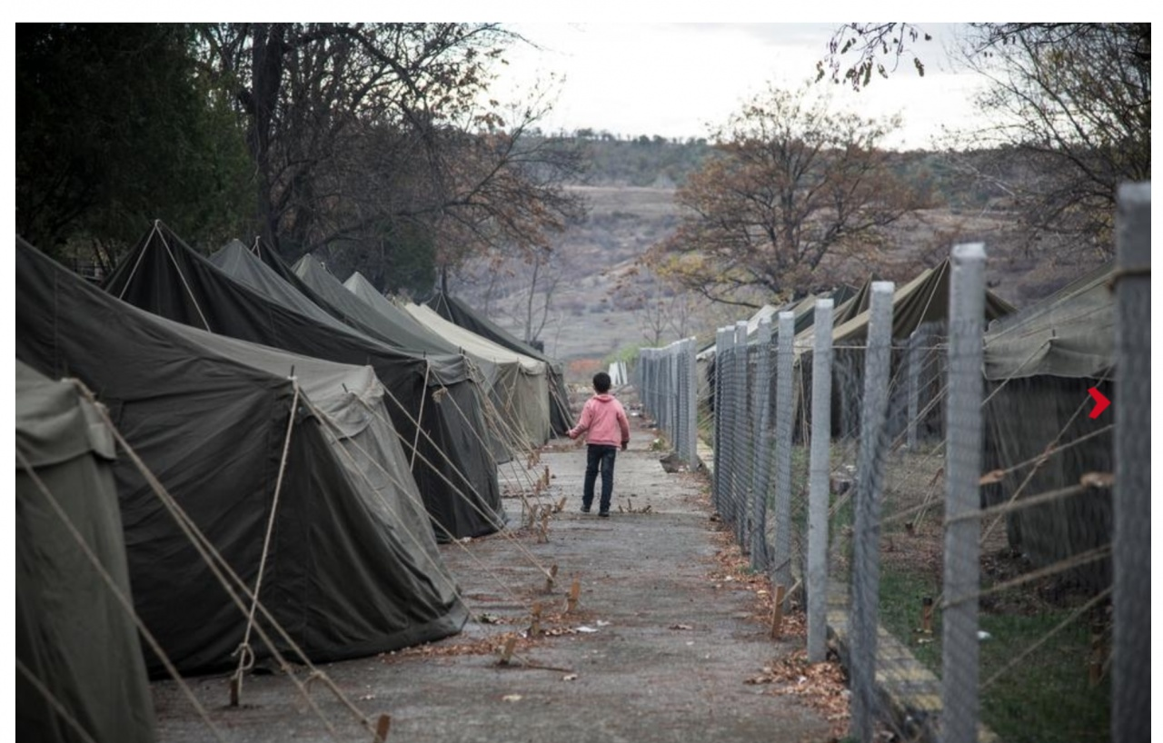 Refugees Winter in Bulgaria
