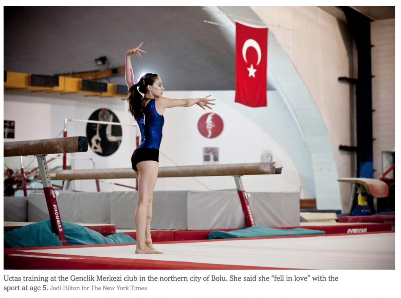 Turkish Gymnast Heads to Olympics