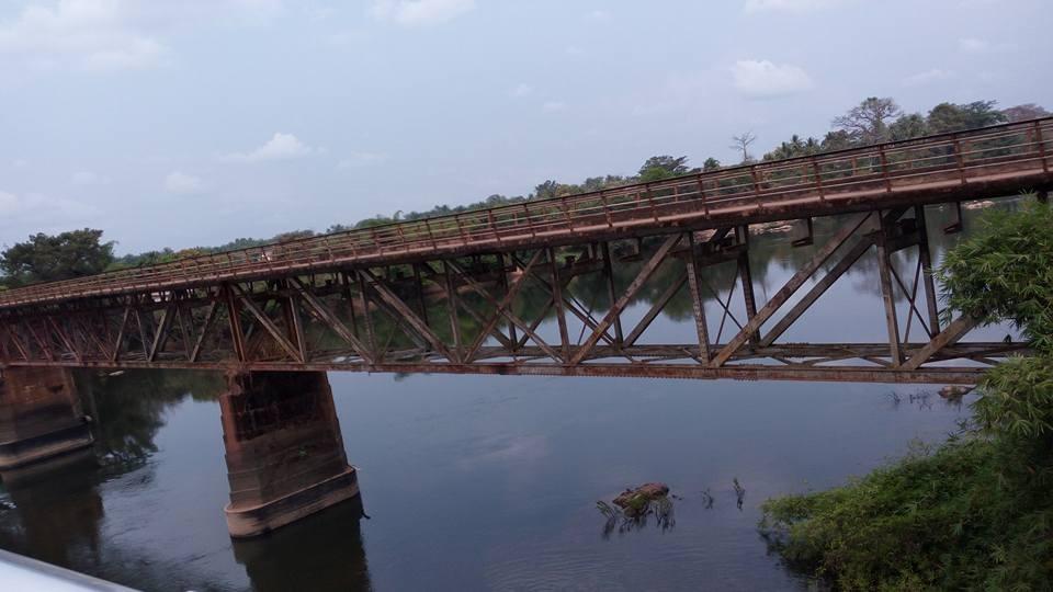 The Old Daru Bridge.