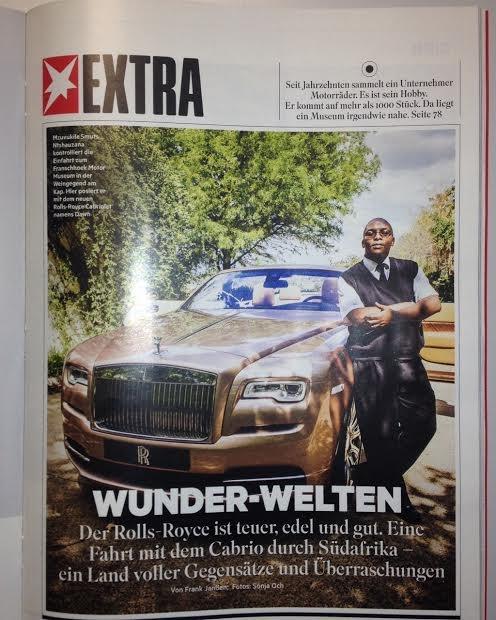 Rolls Royce in Capetown