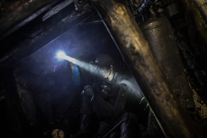 Donbas miners